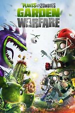Plants vs Zombies Garden Warfare XBox One Game Poster - 24x36 - New FREE SHIP