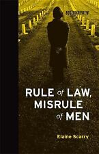 Rule of Law, Misrule of Men (Boston Review Books)-ExLibrary