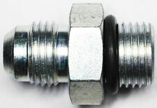 """AN-6 TO 9/16""""-18 Boss Power Steering Adapter Fitting With O-Ring"""