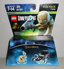2015 LEGO Dimensions Lord Of The Rings GOLLUM & SHELOB THE GREAT  #71218 *NIB