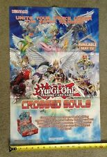 Yu-Gi-Oh Saber Force Dark Legion Crossed Souls 2-Sided Poster Official Konami