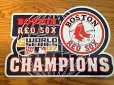 BOSTON RED SOX MAGNET (2007 WORLD SERIES)