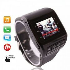 "Unlocked 1.33"" Touch Screen GSM QuadBand Q5 Watch Mobile Phone Bluetooth FM MP3"