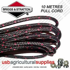 GENUINE BRIGGS 3.6MM X 10 MTR METRES PULL STARTER CORD ROPE 790966 ENGINE
