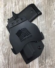 OWB PADDLE Holster Sig Sauer P938  Kimber Micro 9 Kydex Retention SDH