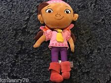 "Disney Parks 12"" Izzy Plush Jake and the Neverland Pirates Pink Girl"