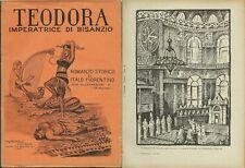 Fiorentino_TEODORA IMPERATRICE DI BISANZIO_Ed. Cosmopolis, 1927_CRAVERI*