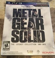 NEW Metal Gear Solid: The Legacy Collection 1987-2012 1st Print w/ Artbook PS3