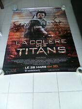 AFFICHE CINEMA ROULEE - LA COLERE DES TITANS - 120x160