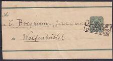DR S 7 Streifband mit R3 Hildesheim in Hannover - Wolfenbüttel 13.12.1888, GA
