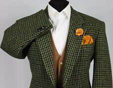 Mens Harris Tweed Blazer Jacket Wedding Country 42S EXCEPTIONAL GARMENT 106