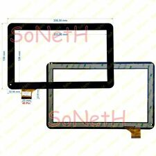 "Vetro Touch screen Digitizer 10,1"" Mediacom SmartPad S2 M-MP1S2B3G Nero"