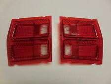 Mopar 69 Dodge Dart Taillight Lenses 1969 NEW