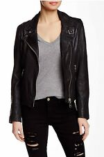 Doma Leather Jacket Black L $598 Sold Out