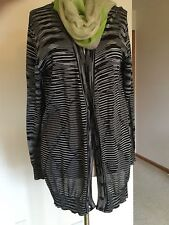 Women's Cardigan,L,black,geometric,Buttons down,Casual,Missoni,NWT