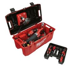 NEW Milwaukee 26 In. Jobsite Portable Work Tool Storage EMPTY! Lockable Box