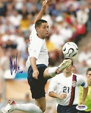 CLINT DEMPSEY AUTOGRAPHED TEAM USA WORLD CUP SOCCER PSA/DNA 8X10 PHOTO