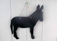 Donkey B a forma di Gesso Board Lavagna regalo fatto a mano natale compleanno c