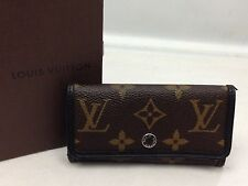 Auth LOUIS VUITTON Monogram Multicles 6 Key Case   6D200540s