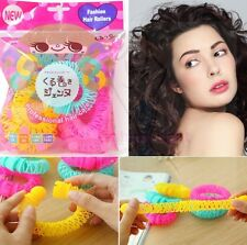 8 PCS Women Bendy Hair Styling Curler Spiral Curls DIY Hairdressing Best Tool **