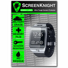 Screenknight SAMSUNG GALAXY GEAR 2 SCREEN PROTECTOR invisibile SCUDO MILITARE