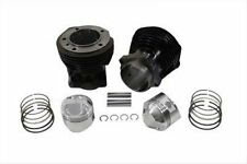 CYLINDER SET WITH FITTED 9.5:1 WISECO PISTONS & RINGS - HD SHOVELHEAD 1979-1984