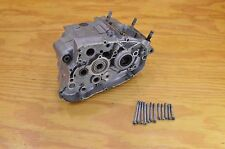 80 YAMAHA TRI MOTO 125 YT125 CRANKCASE SET COMPLETE - LEFT & RIGHT SIDE W/ BOLTS