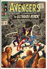 Avengers 35 - Captain America - Early Silver-Age Comic - 5.0 VG/FN
