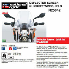 SUZUKI M50/M50 BLACK BOULEVARD 2005-09 N.C. DEFLECTOR QUICKSET WINDSHIELD N25042