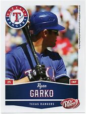 2010 Texas Rangers Dr. Pepper #15 Ryan Garko SGA