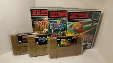 Legend of Zelda: Goddess of Wisdom / Parallel Worlds / B.S. BS SNES Gold Cart