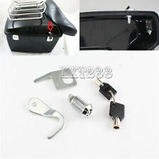 Tour-Pak Lock w/ Key Hardware Kit For Harley Electra Road Tour Glide 1993-2013