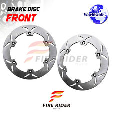 FRW 2x Front Brake Disc Rotor For HONDA GL 1500 GOLD WING 88-00 88 89 90 91 92