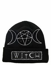 Rat Baby Witch Beanie Knit Hat Gothic Occult Punk