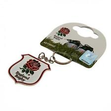 England Rugby Union International Metal Key Ring Official RFU Keyring Ruggers