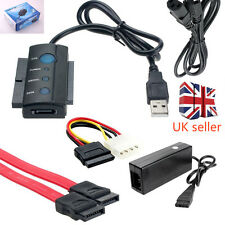 "SATA IDE TO USB CONVERTER UNIVERSAL DRIVE ADAPTER CABLE for 2.5"" 3.5"" HDD"