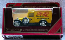 Matchbox Models of Yesteryear, Y-22: 1930 Model 'A' Ford Van; Maggi's