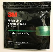NEW! 3M FINISH LINE KNIFELESS TAPE FOR  GRAPHICS WRAPS 1/8''X32'- 3.5MMx10 Meter