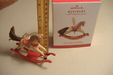 ~FORTY YEARS OF MEMORIES~ROCKING HORSE~2013 HALLMARK ORNAMENT~