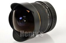 BOWER 8MM F3.5 ULTRA FAST FISHEYE LENS FOR CANON DIGITAL SLR/NEW