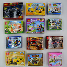 Lot of 12 kinds City Friends Police Pirate train building block fit toy lego