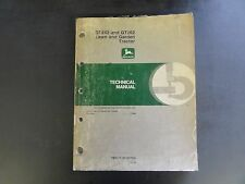 John Deere GT242 and GT262 Lawn and Garden Tractor Technical Manual  TM1515