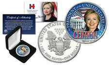 HILLARY CLINTON For President 1 oz PURE SILVER 2016 AMERICAN EAGLE in Deluxe BOX