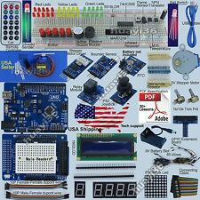 New Ultimate UNO R3 Starter Kit for Arduino 1602LCD Servo Motor RTC USA Seller