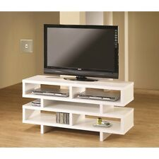 Coaster TV Stand -White 700721