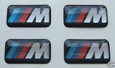 4 BMW M Tech Alloy Wheel / Stering badges stickers sport M3 M5 1 3 5 series OEM