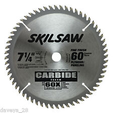 SKIL SKILSAW 75760 7-1/4-Inch 60T Carbide Circular Saw Blade 60x more durable