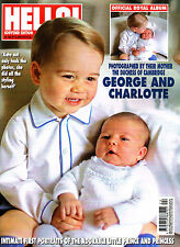 HELLO! 15/06/2015 ROYAL BABY OFFICIAL ALBUM Prince George Princess Charlotte NEW