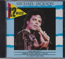 "MICHAEL JACKSON - 12"" MIXES - CD -  NEW -"