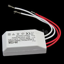 20-60W Halogen Lamp Light LED Driver Power Supply Transformer AC 220-240V to 12V